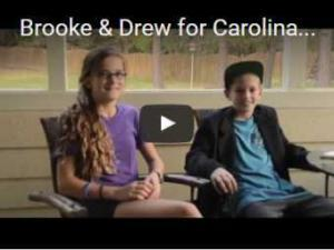 Brook and Drew tell why they love Carolinas Vision Group