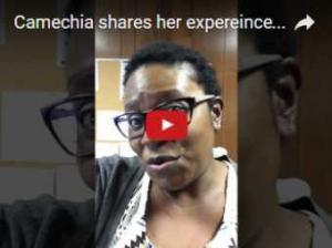 Camechia shared eyecare experience in Charlotte