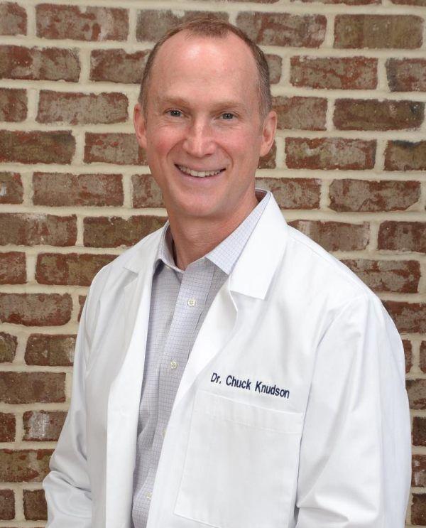Charlotte optometrist Chuck Knudson