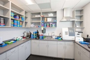 on-site lens lab in Rea Farms