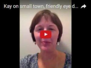 Kay talks about the small town personal touch at Carolinas Vision