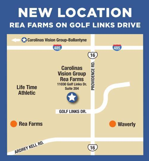 Rea Farms - Waverly optometry office map