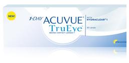 1-Day ACUVUE TruEyes contact lenses at Carolinas Vision Group
